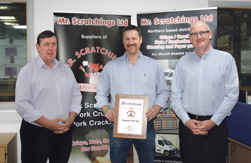 (L-R) Roger Gladman, Business Development Manager, Tim Banks, Managing Director & Howard Stead, Sales Director
